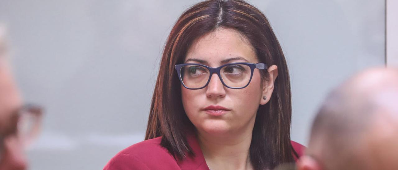 Carolina Vigara, concejal y portavoz de Vox en el Ayuntamiento de Torrevieja hasta hoy/ Foto Tony Sevilla