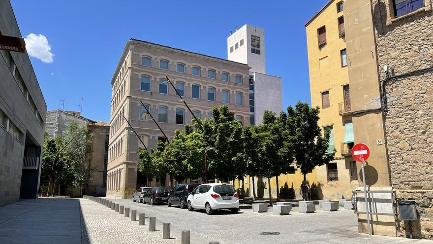 A Manresa s'aprova el canvi de nom de la plaça Montserrat pel de Palmira Jaquetti Isant