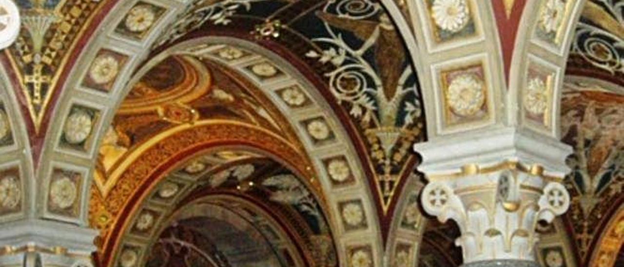 La cripta neobizantina