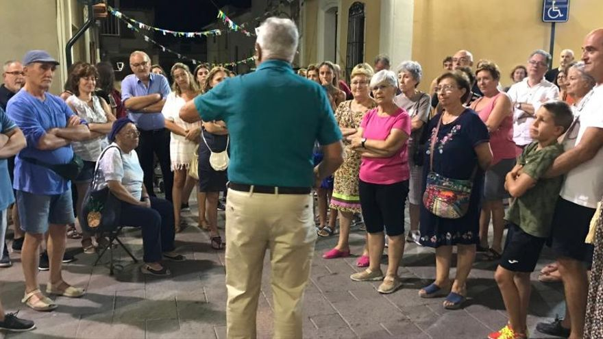 La historia a pie de calle triunfa en Benitatxell