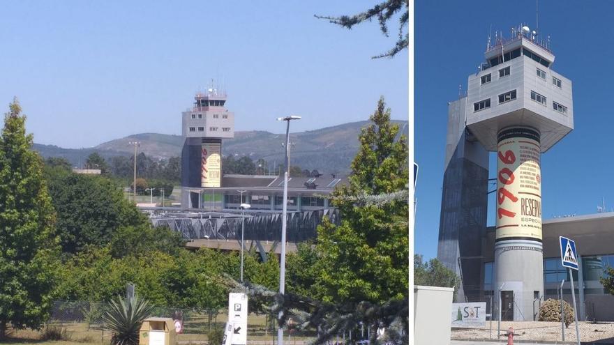 Vigo 'brinda' en Peinador con la lata de 1906 más grande del mundo