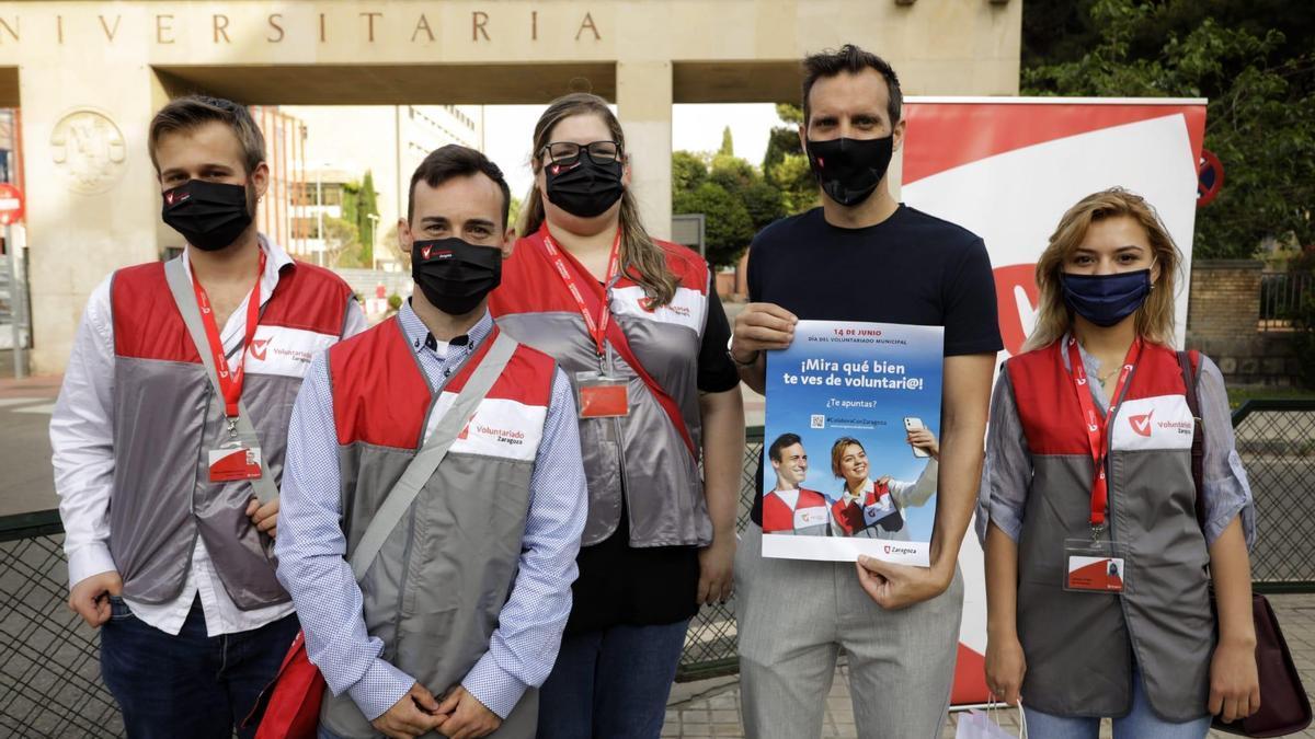 El Ayuntamiento de Zaragoza busca atraer jóvenes voluntarios