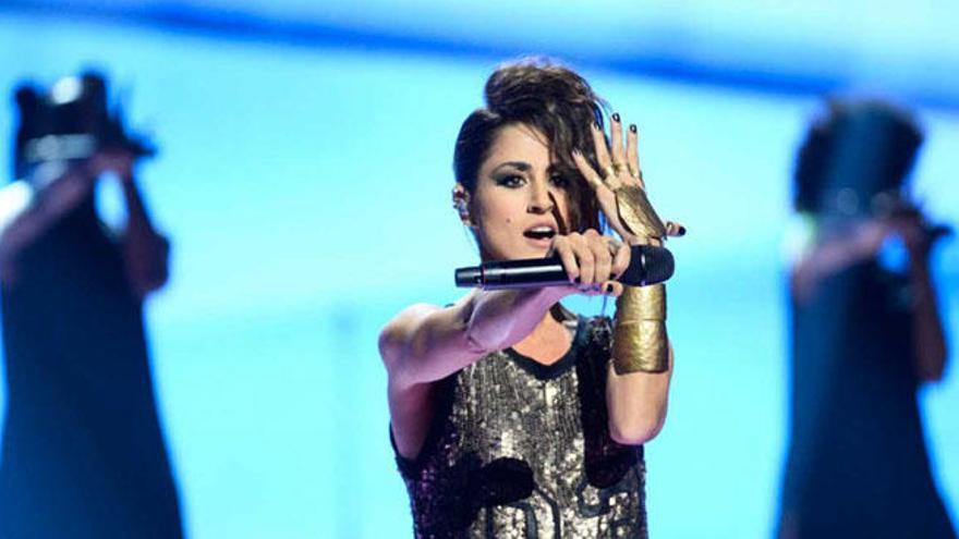 Eurovisión 2016: Filtran el ensayo de figuración de Barei