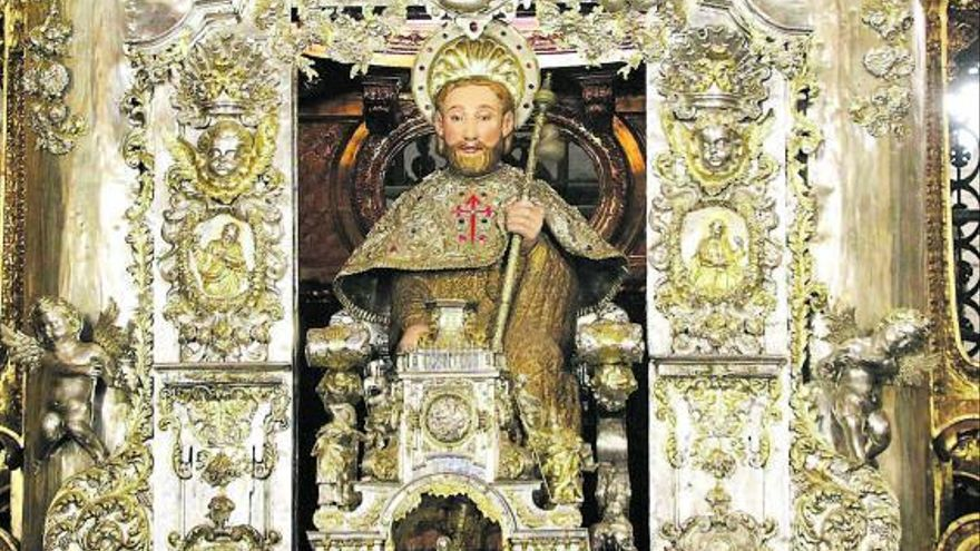 Un análisis forense plantea que los restos del apóstol Santiago están confundidos