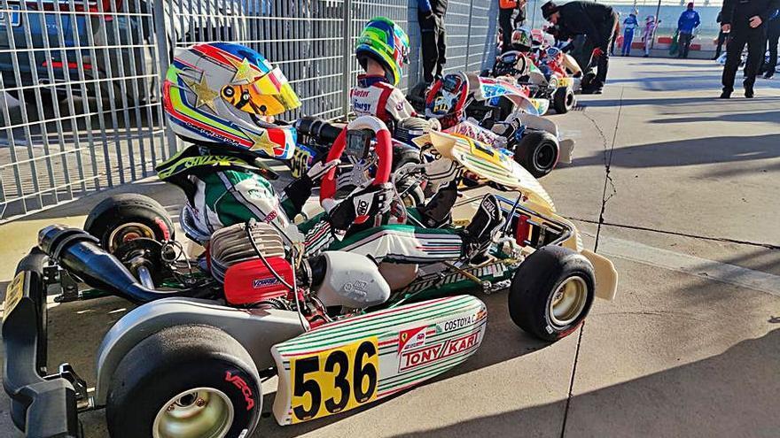 Costoya regresa a Italia para disputar dos pruebas de WSK