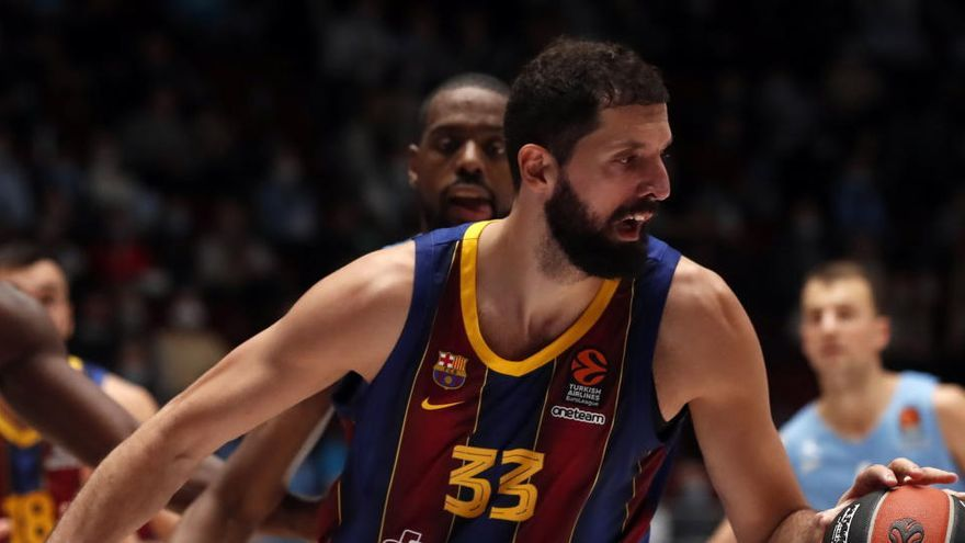 Mirotic, positivo en Covid-19 en la plantilla del Barça