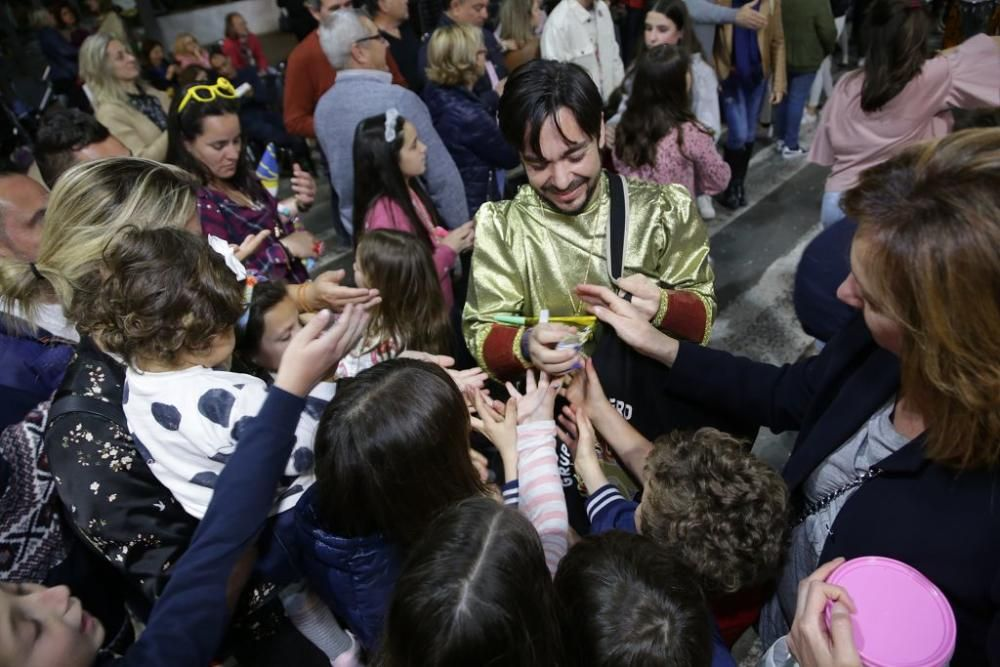 Desfile y lectura del Testamento de Doña Sardina