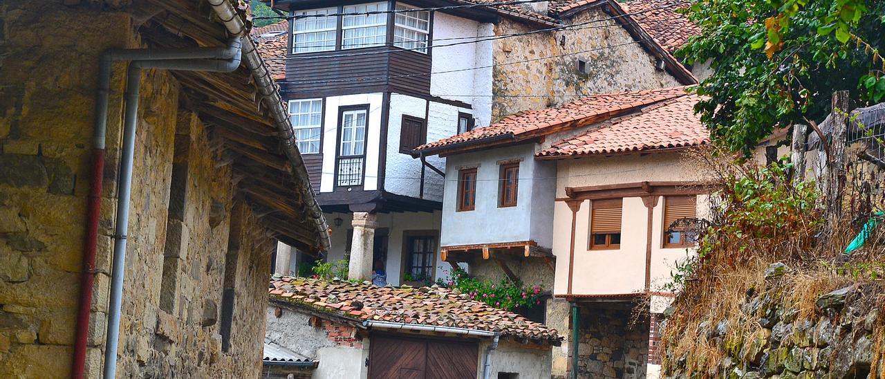 El pueblo casín de Orlé.