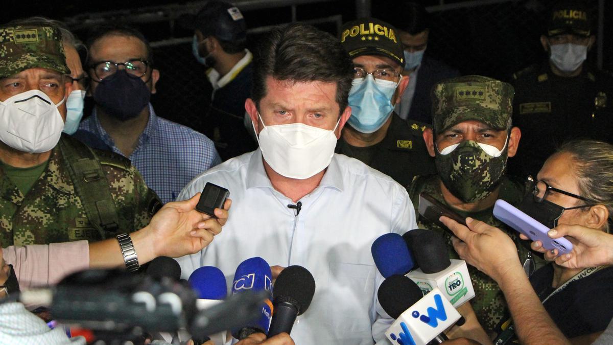 El ministro de Defensa de Colombia, Diego Molano.