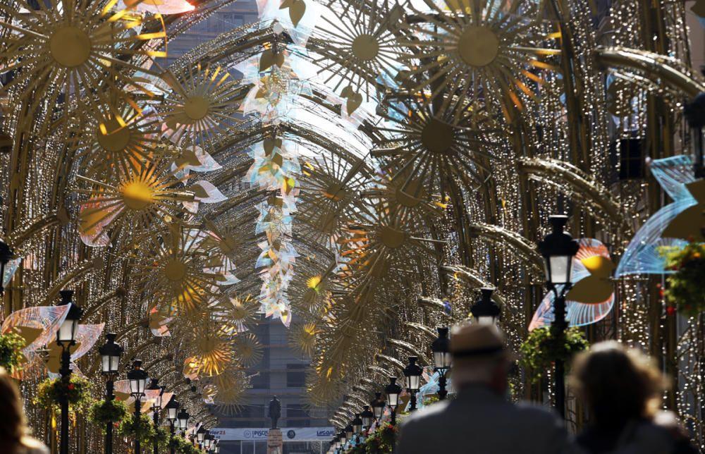 Las luces navideñas de la calle Larios