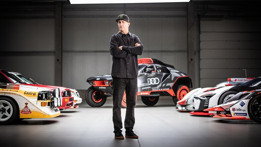 Audi y Ken Block se asocian para impulsar la movilidad eléctrica