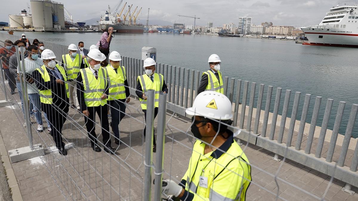 Comienzan las obras de la marina de megayates en el Puerto