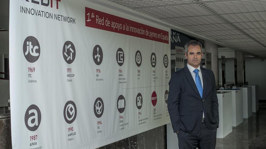 'Trabajamos con 14.000 empresas, lo que nos convierte en la primera red de apoyo a la innovación en pymes de España