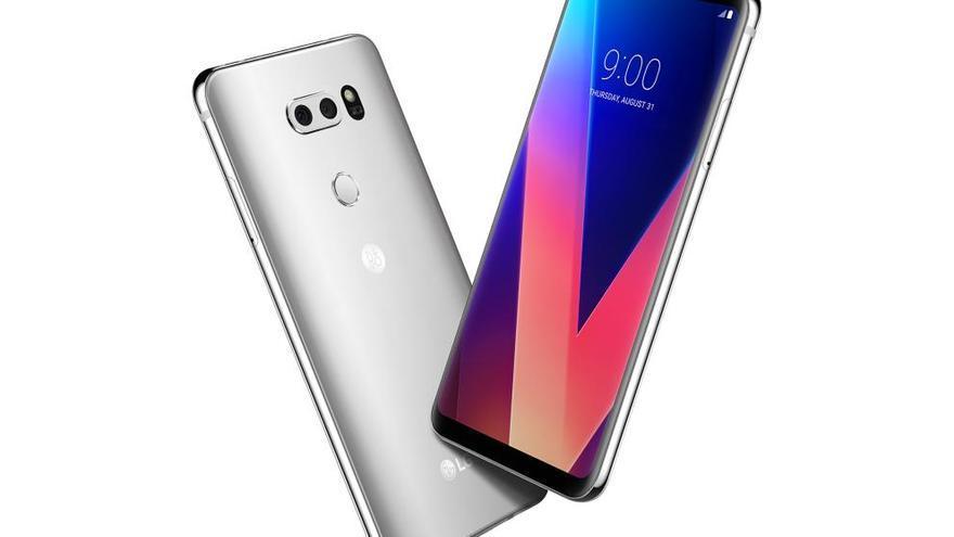 Así es el nuevo LG V30