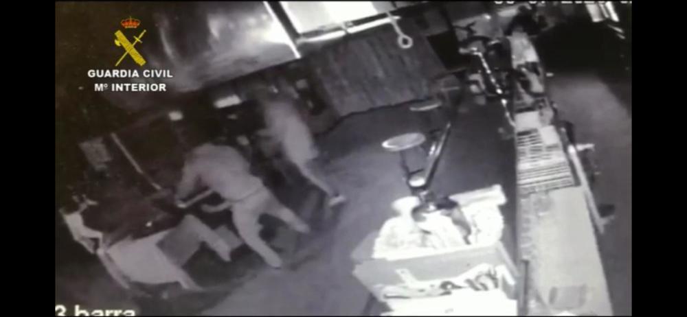 """Este fue el momento de la detención de varios miembros de la """"banda del Seat León"""""""