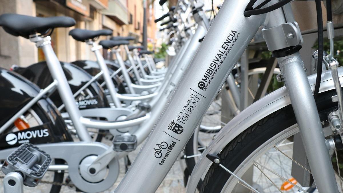 El uso de bicicletas públicas de Torrent se disparó el pasado mes de agosto.