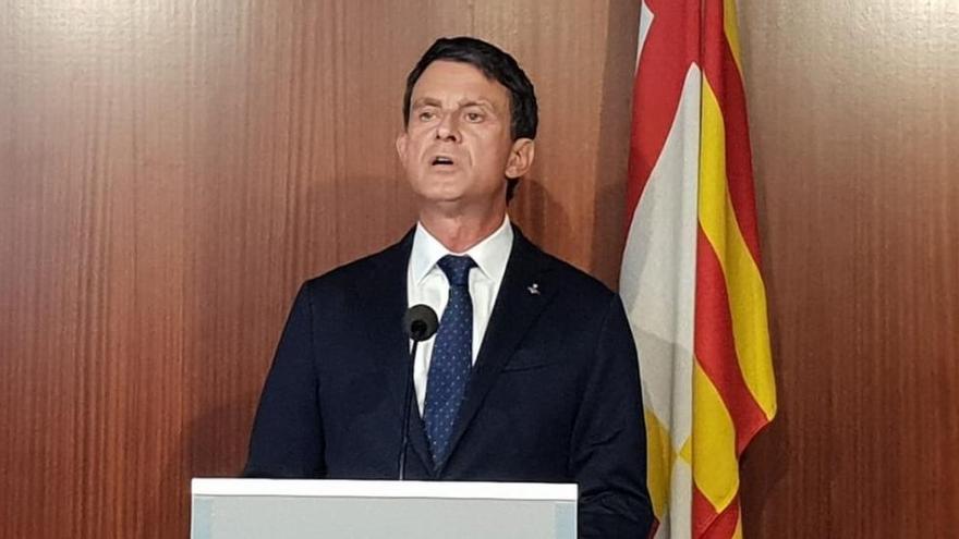 Valls carrega contra Cs per «irresponsable» i pels pactes indirectes amb Vox