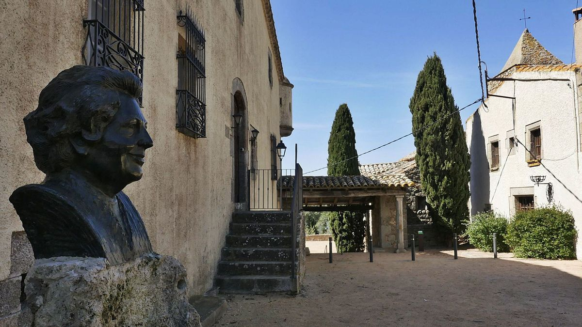 La figura de l'escriptora catalana sempre es manté molt present a tots els racons de Romanyà de la Selva. | DIARI DE GIRONA
