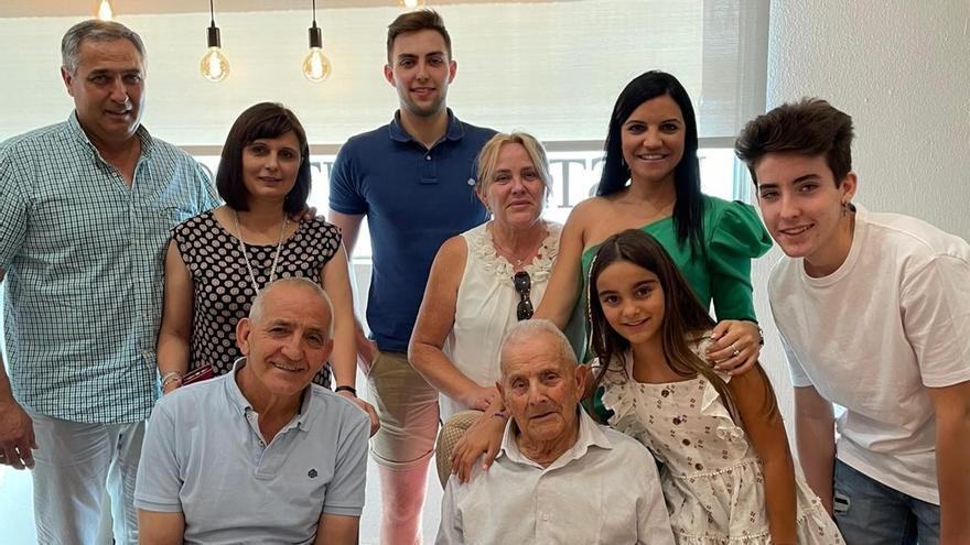 Cumpleaños centenario en Villafáfila