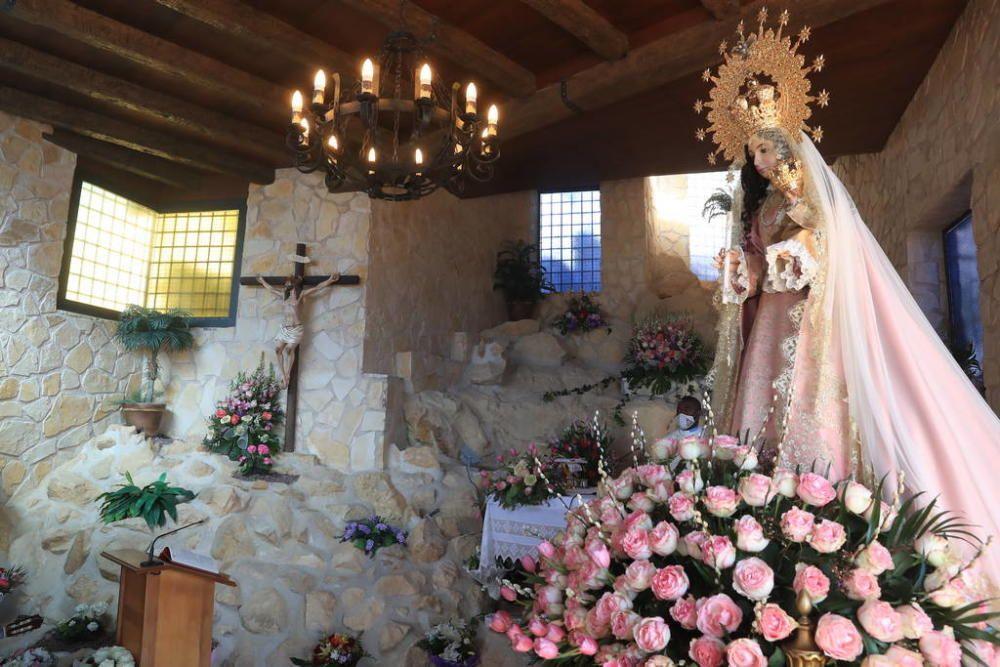 Atípico día de la Romería en La Hoya