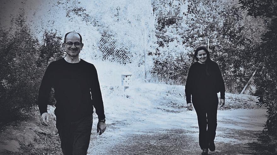 Imaràntia, el duo de Miquel Brunet y María José Cardona, publica 'Obre les ales', un grito a la resistencia humana