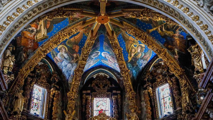 Los ángeles  músicos de la Catedral volverán a quedar ocultos al menos 6 meses