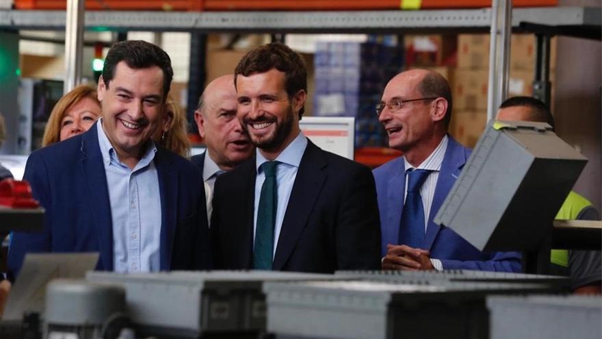 Casado y Moreno pactan listas unitarias para renovar el PP