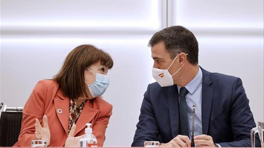 Sánchez anunció a la nueva Ejecutiva del PSOE que intervendría en la reforma laboral
