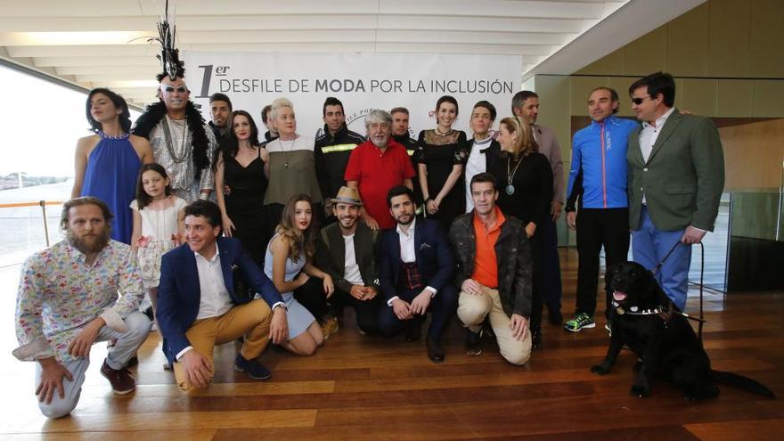 Ávila acoge la primera pasarela de moda de personas con diferentes capacidades
