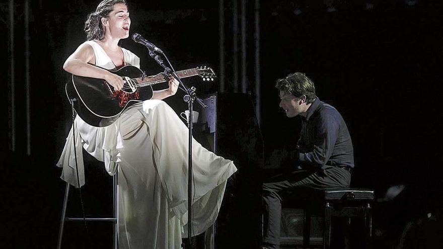 Sílvia Pérez Cruz y Marco Mezquida ofrecen una actuación mágica en Port Adriano