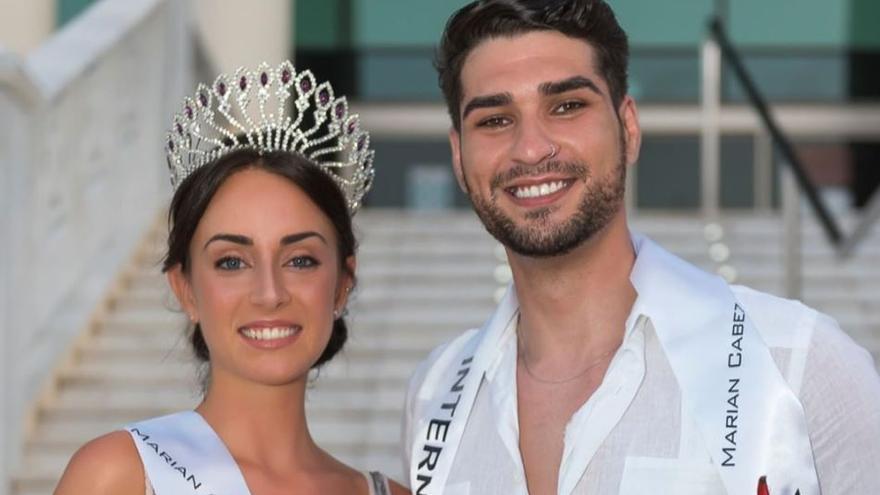 Beatriz Medina y Omar Souidi, representantes de València en Miss Mundo y Mr. Internacional