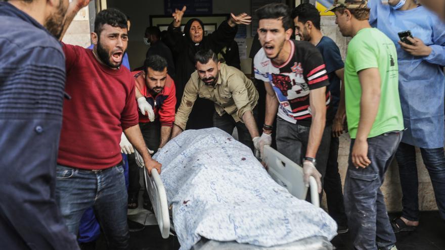 Al menos 24 muertos, entre ellos nueve niños, en los bombardeos de Israel sobre Gaza