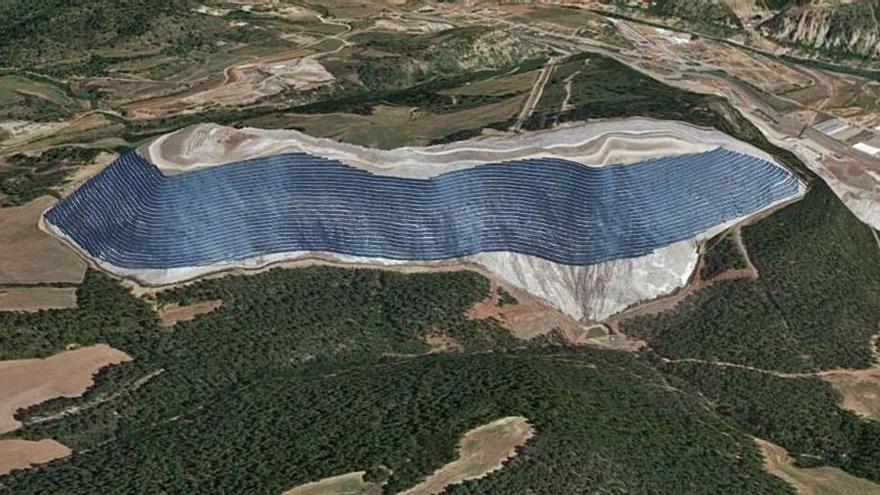 La Generalitat treballarà per fer viable el parc solar del Cogulló que acaba de tombar