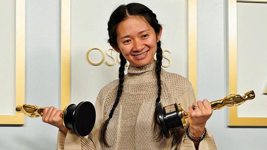 La nit històrica de Chloé Zhao