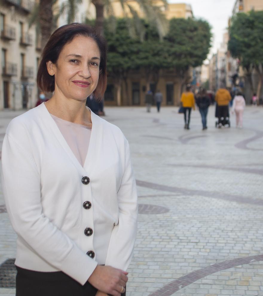 Ana María Arabid Mayorga, concejala de Urbanismo del Ayuntamiento de Elche.
