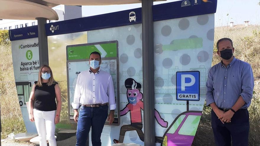 Iniciada una campaña para favorecer el acceso al centro en bus desde los aparcamientos disuasorios