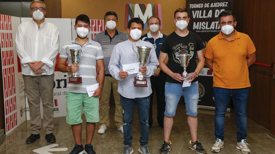 Jhoel García gana la 54 edición del Internacional de Ajedrez Vila de Mislata