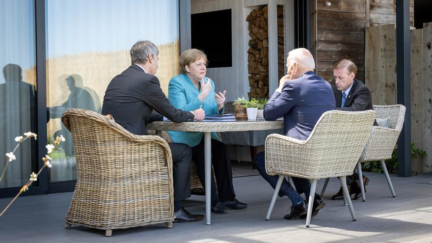 La cumbre del G7 termina con la 'Declaración de Carbis Bay'