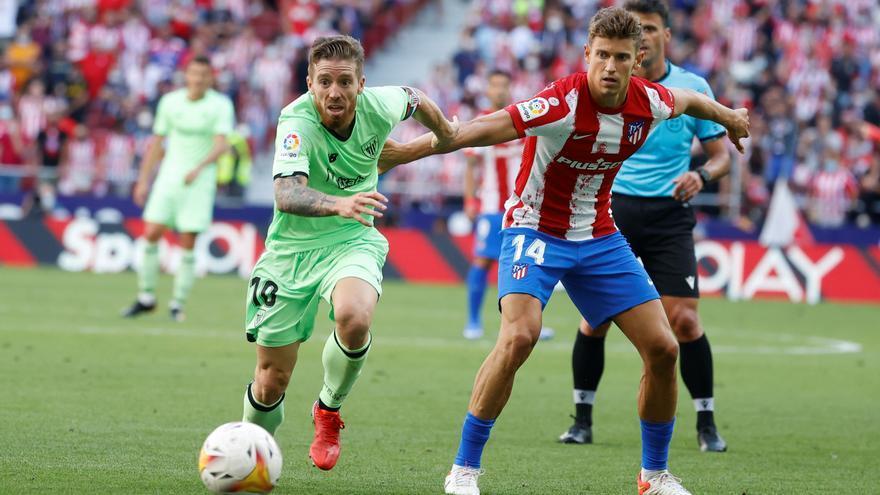 El Atlético se atasca ante el Athletic