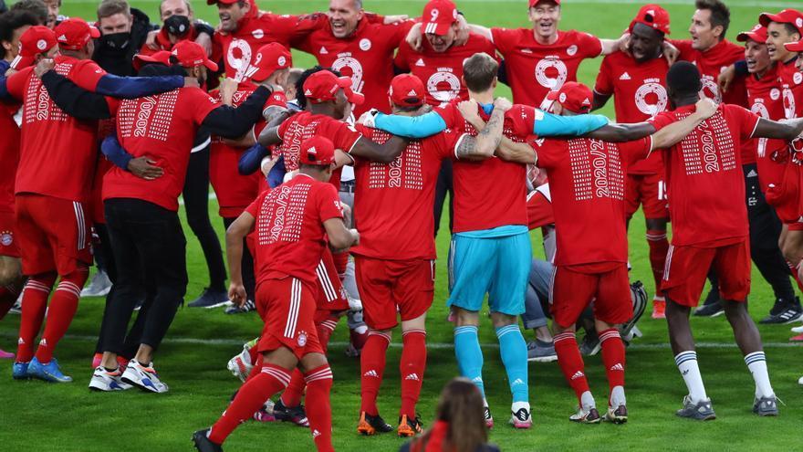 El Bayern se proclama campeón de la Bundesliga por novena ocasión consecutiva
