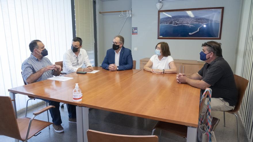 La Diputación reclama garantizar la sostenibilidad económica de la pesca de Castellón