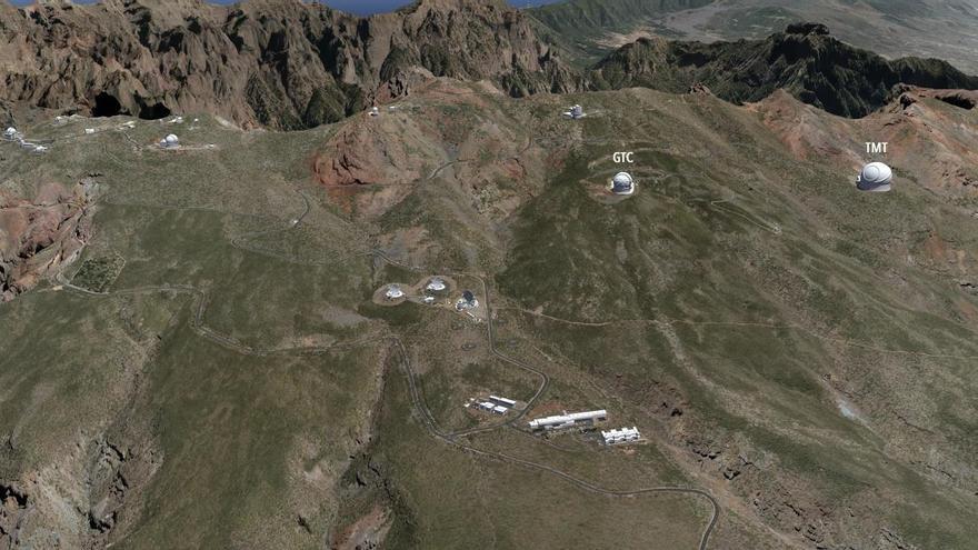 Un nuevo estudio respalda la instalación del TMT en La Palma
