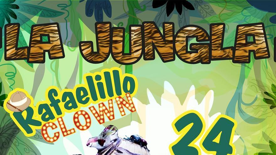 Rafaelillo Clown en el Cabaret Infantil de la Jungla