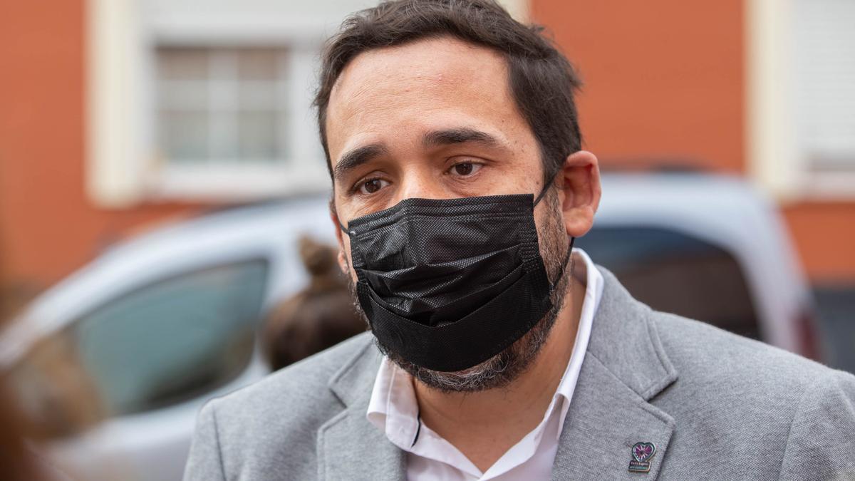 El concejal de Bienestar Social en el Ayuntamiento de La Laguna, Rubens Ascanio.