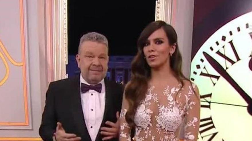 Cristina Pedroche y Alberto Chicote repiten en las campanadas de Antena 3