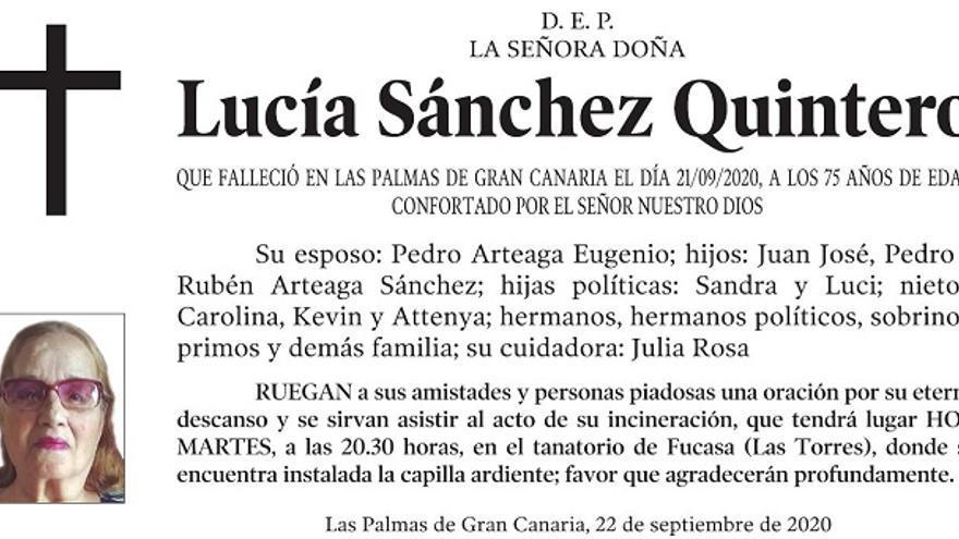 Lucía Sánchez Quintero