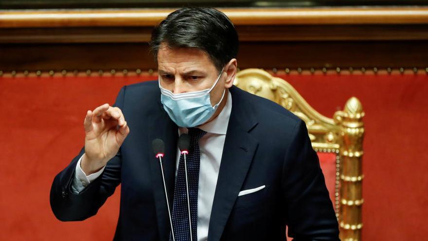 Conte medita su posible dimisión para rearmar su mayoría