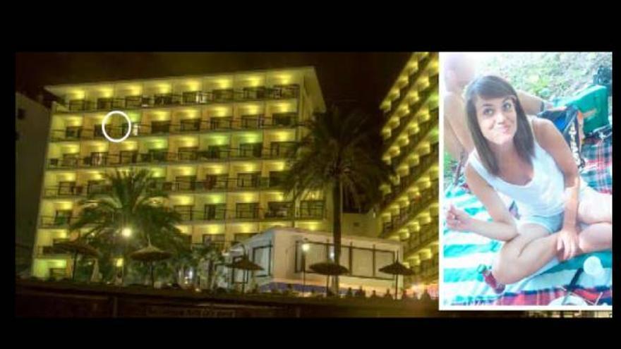 Ni balconing ni suicidio: Martina Rossi huía de sus violadores cuando cayó desde la terraza de un hotel de Mallorca