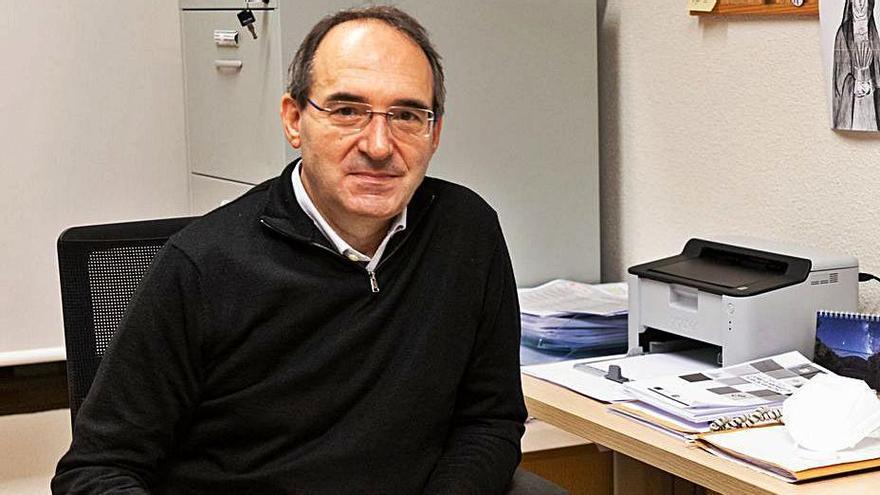 Antonio Jesús Martín de Lera, en su despacho. | Ical