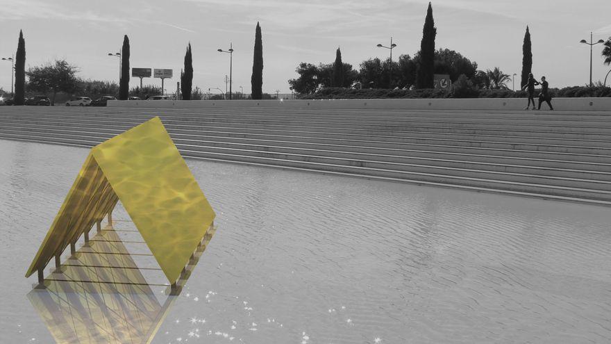 Primeras obras de arte del CaixaForum València